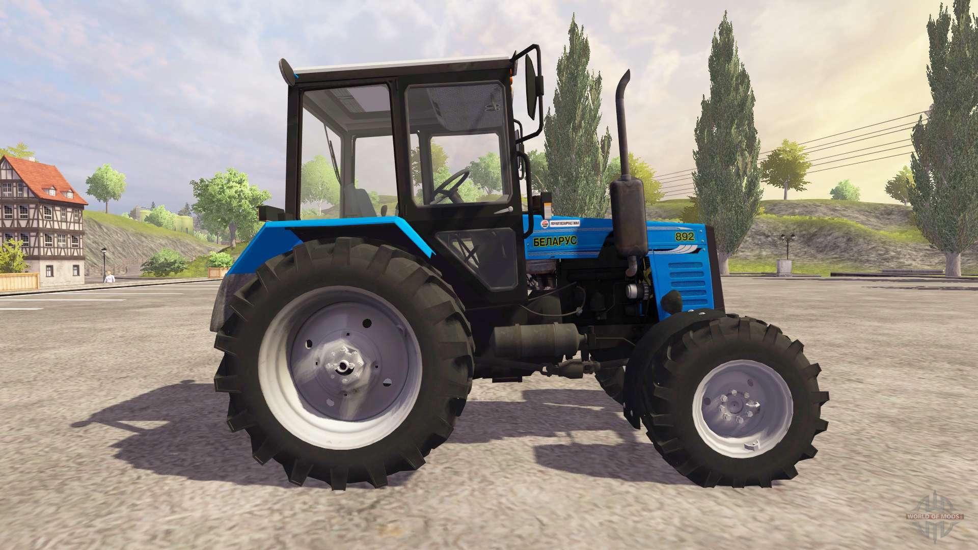 Трактор Беларус МТЗ 892 - описание, цена, технические.