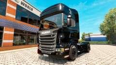 Скин BlackBerry на тягач Scania