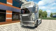 Скин Hartmann Transporte на тягач Scania
