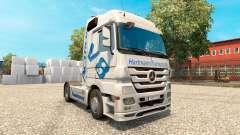 Скин Hartmann Transporte на тягач Mercedes-Benz
