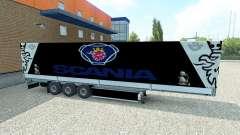 Скин Scania на полуприцеп