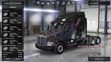 Расширенная линейка двигателей Paccar для American Truck Simulator