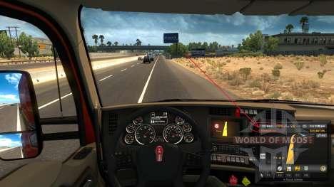 Kenworth T680 1500 HP Engine для American Truck Simulator