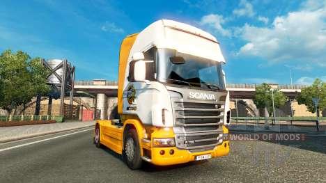 Скин Mezzo Mix на тягач Scania для Euro Truck Simulator 2