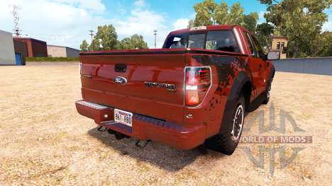Ford F-150 SVT Raptor v1.1 для American Truck Simulator