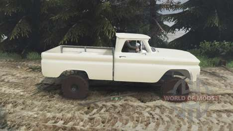 Chevrolet C30 1966 [tan] v1.1 [16.12.15] для Spin Tires