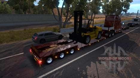 Doll Vario 3 Axle Trailer для American Truck Simulator