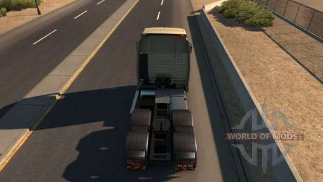 MAN TGX для American Truck Simulator