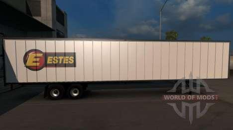 Estes Trailer для American Truck Simulator