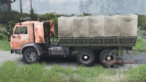 КамАЗ-53212 [25.12.15] для Spin Tires
