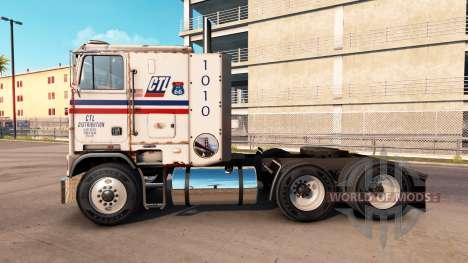Freightliner FLB CTL Transport для American Truck Simulator