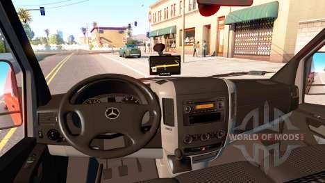 Mercedes-Benz Sprinter LWB для American Truck Simulator