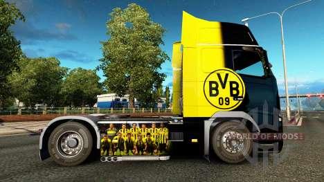 Скин BvB на тягач Volvo для Euro Truck Simulator 2