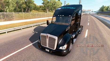 Скин Kocanlar на тягач Kenworth для American Truck Simulator