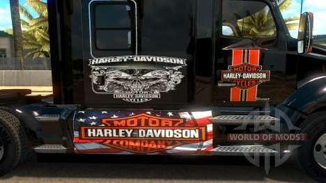T680 Harley Davidson skin для American Truck Simulator