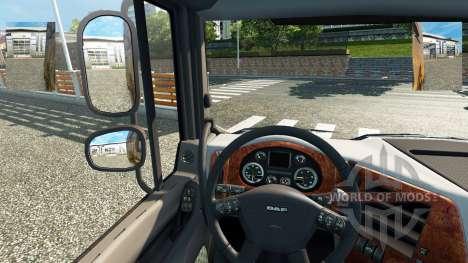 Малые зеркала для Euro Truck Simulator 2