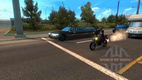 Мотоциклы среди трафика для American Truck Simulator