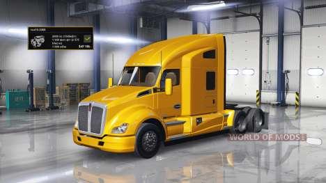 Двигатель 2000 л.с. для American Truck Simulator
