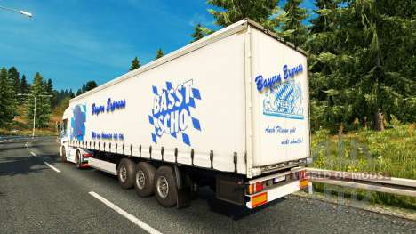 Скин Bavaria Express на тягач Scania для Euro Truck Simulator 2