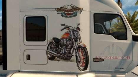 Kenworth T680 Harley Davidson Skin для American Truck Simulator