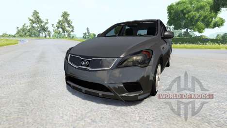 Kia Ceed 2011 для BeamNG Drive