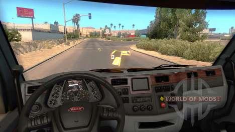 Голограмма миникарты для American Truck Simulator