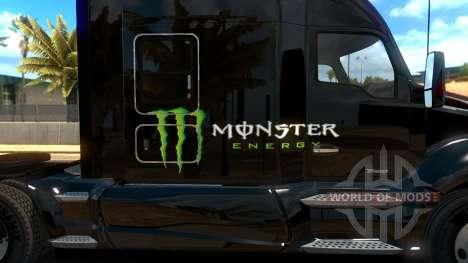 Kenworth T680 Monster Energy для American Truck Simulator