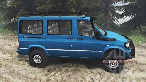 УАЗ-3165 Симба [16.12.15] для Spin Tires