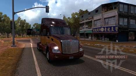 Карта Китая для American Truck Simulator