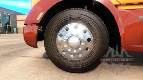 Реальные шины для American Truck Simulator