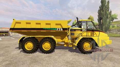 Caterpillar 725 v1.5 для Farming Simulator 2013