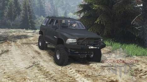 Dodge Durango 1998 [25.12.15] для Spin Tires