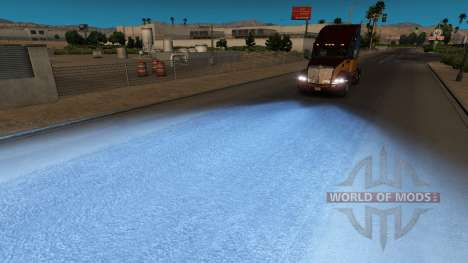 Синий свет для American Truck Simulator