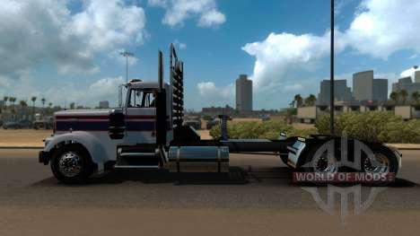 Kenworth W900A для American Truck Simulator
