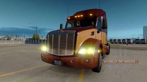 Жёлтые огни для American Truck Simulator