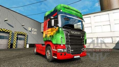 Скин Lower на тягач Scania для Euro Truck Simulator 2