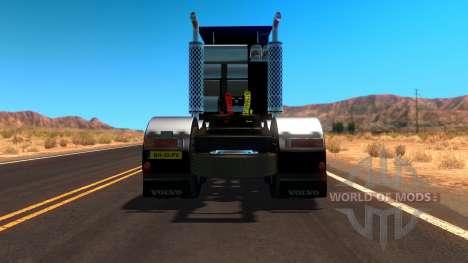 Volvo F10 Heavy Transporter Truck для American Truck Simulator