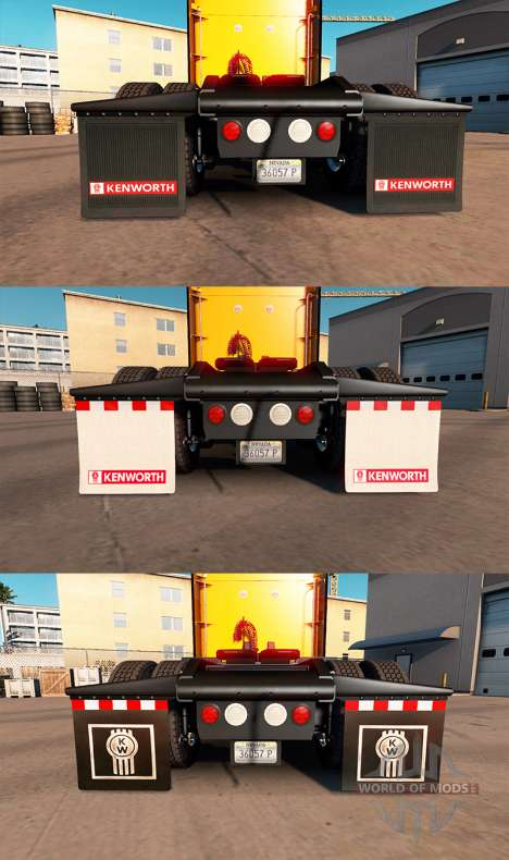 HD брызговики для American Truck Simulator