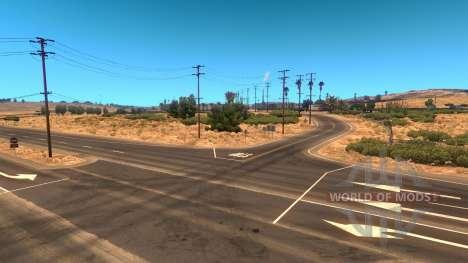 Уменьшенная плотность трафика для American Truck Simulator