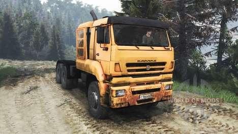 КамАЗ-65226 [25.12.15] для Spin Tires