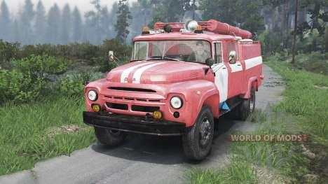 ЗиЛ-130 АЦ-40 [25.12.15] для Spin Tires