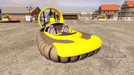 Катер на воздушной подушке для Farming Simulator 2013
