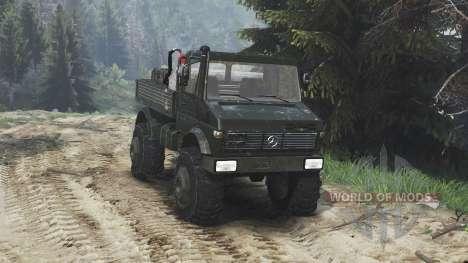 Mercedes-Benz Unimog U1650 [16.12.15] для Spin Tires