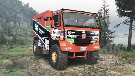 Tatra 815 Dakar [08.11.15] для Spin Tires