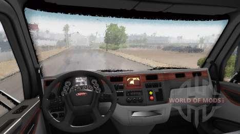 Эффект дождя v1.7.4 для American Truck Simulator