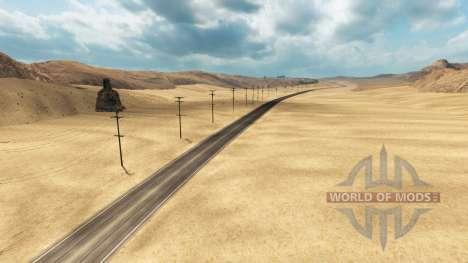 Дороги северной Невады для American Truck Simulator