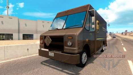 Реальные бренды на фургоны из трафика для American Truck Simulator