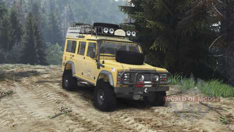 Land Rover Defender 110 Camel Trophy [25.12.15] для Spin Tires