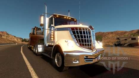 International LoneStar в трафике для American Truck Simulator