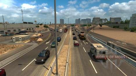Увеличенная плотность трафика для American Truck Simulator